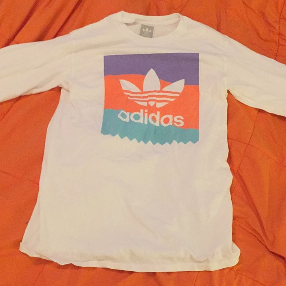 adidas Other - Adidas Pastel Blackbird White Long Sleeve T-shirt 1221c888c